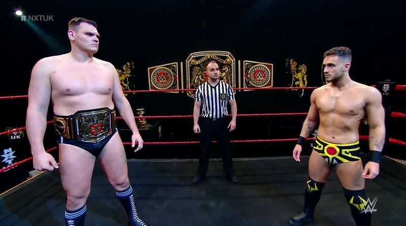 The NXT UK Championship was on the line for the time in 2021