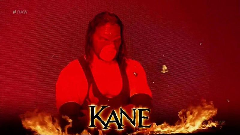 Kane has been part of the WWE roster for 24 years