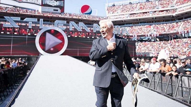 Pat Patterson was influential behind the scenes in WWE