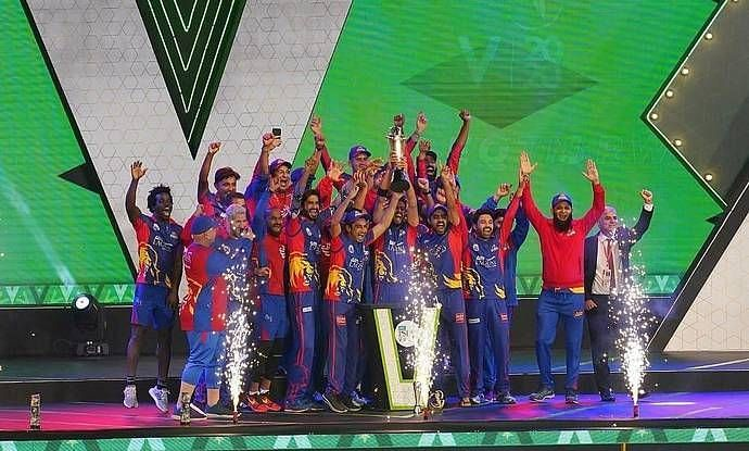 PSL 2020 champions Karachi Kings (Image Courtesy: PSL Twitter)