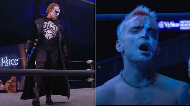 Sting had a decisive role in the main event