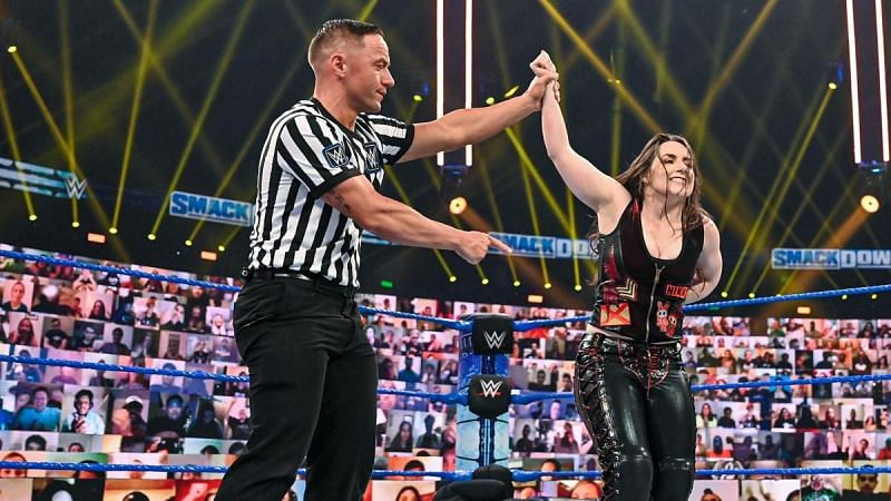 2020 was a year of ups and downs for Nikki Cross