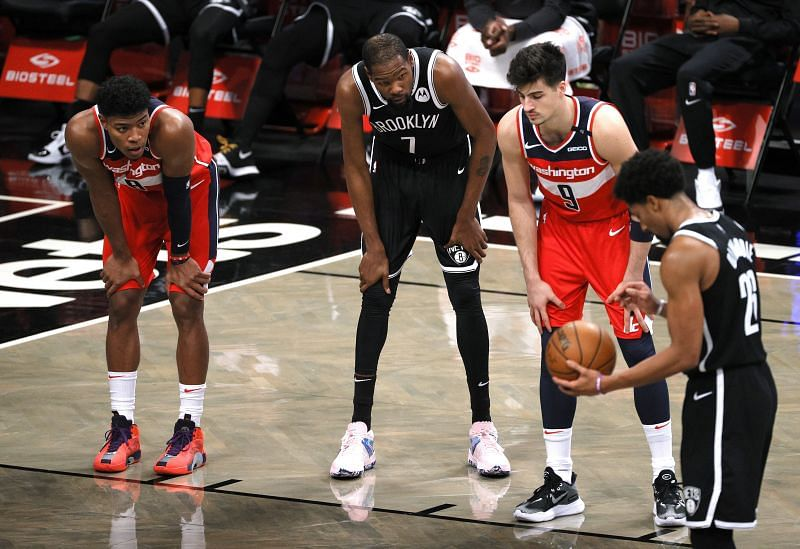 The Brooklyn Nets take on the Washington Wizards, sans Spencer Dinwiddie