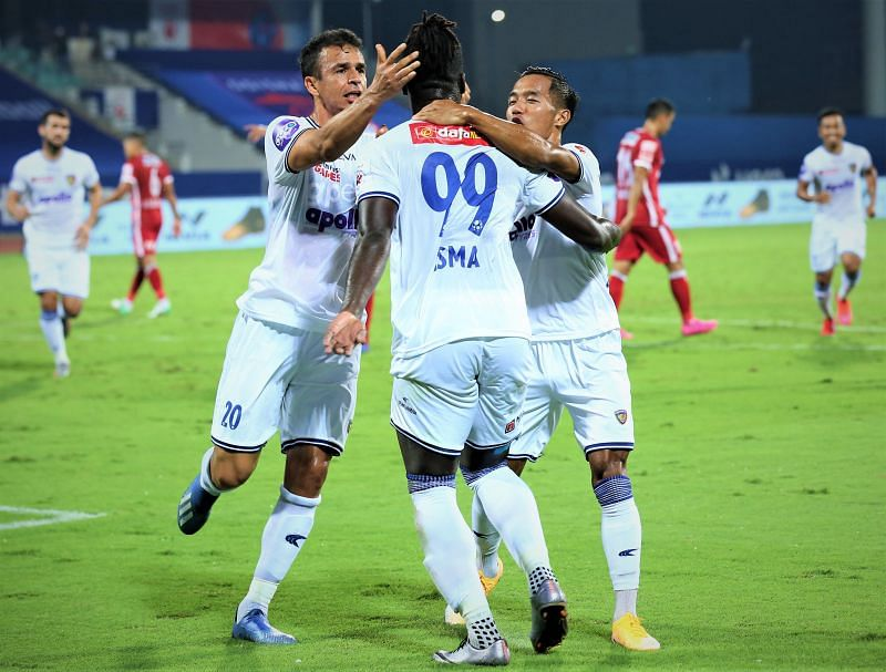 Chennaiyin FC and Isma pounced on a couple of daft mistakes to finish the game nice and early. (Courtesy: ISL)