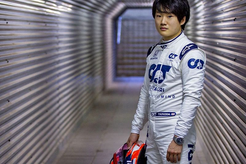 Yuki Tsunoda will team up with Piere Gasly in his debut season in 2021.