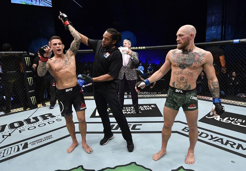 UFC 257: Poirier v McGregor