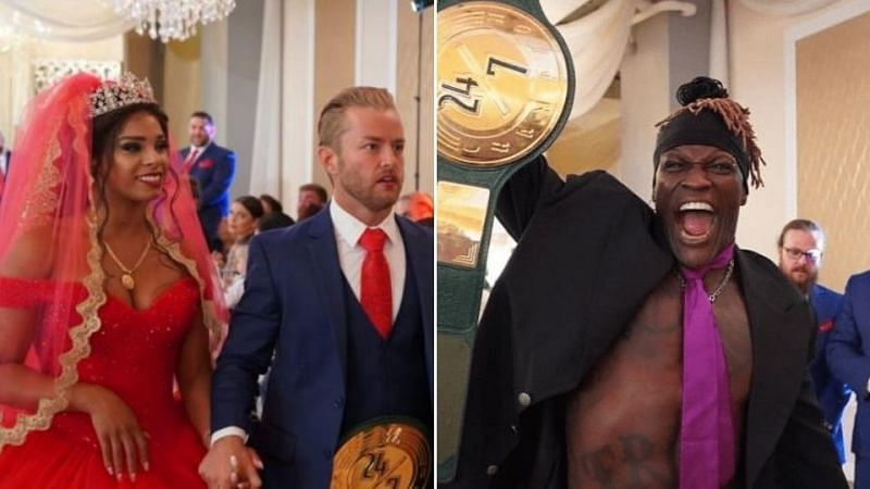 Renee Michelle opened up about the WWE 24/7 angle filmed on the day of her wedding to Drake Maverick