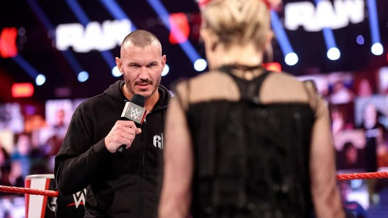 Randy Orton and Alexa Bliss