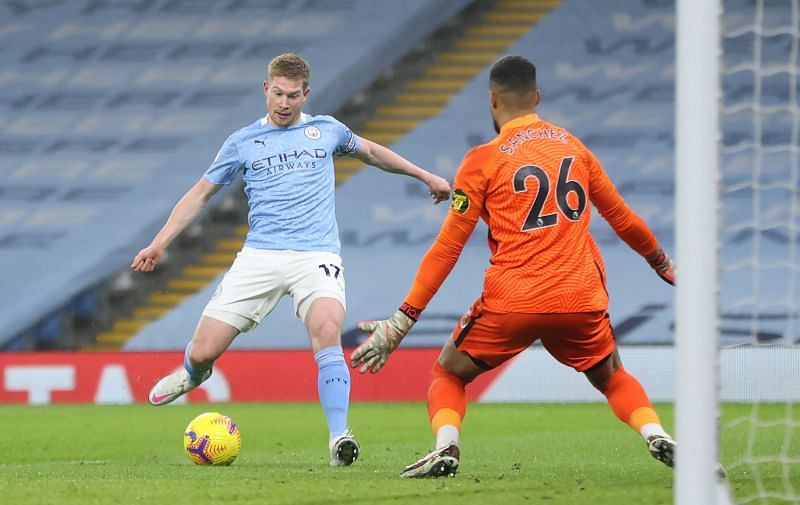 Manchester City beat Brighton to move to third on the Premier League