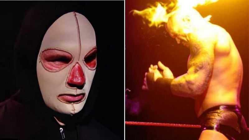 Randy Orton is now wearing a mask after suffering burns from Alexa Bliss