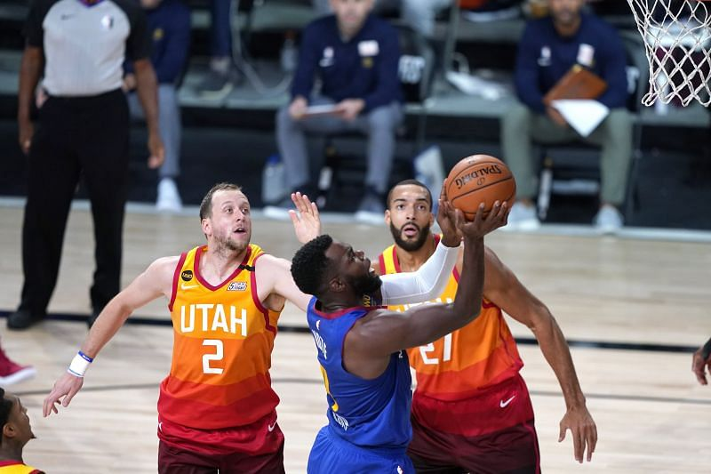 Denver Nuggets v Utah Jazz - Game Four
