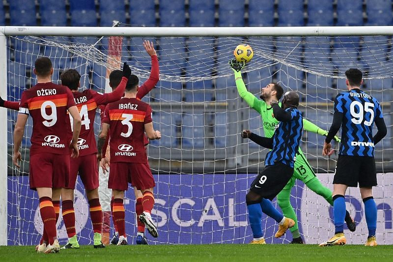 Pau Lopez produced an incredible performance against Inter Milan.