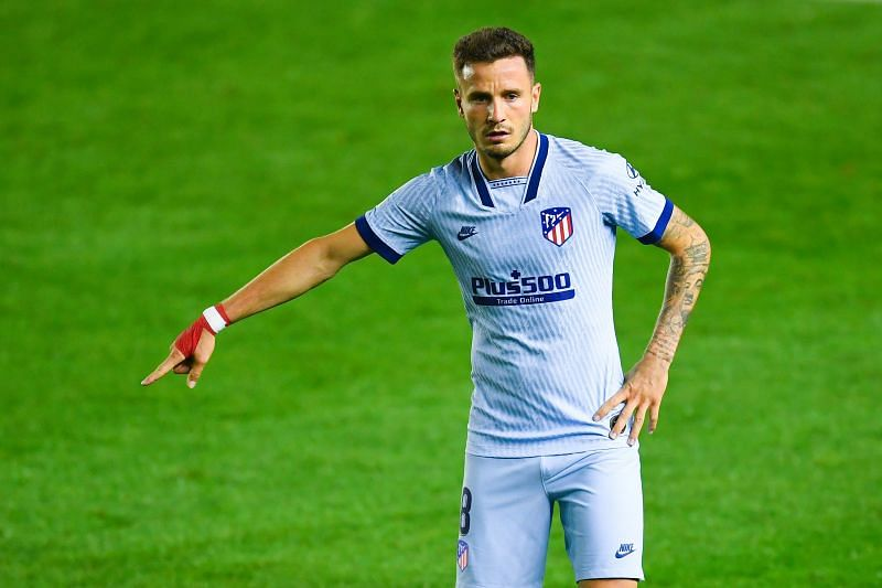 Saul Niguez has is under contract with Atletico Madrid until 2026.