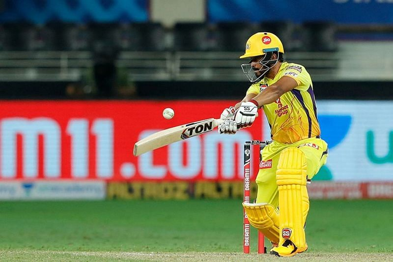 Kedar Jadhav had a strike rate of less than 100 in IPL 2020 (Image Courtesy: IPLT20.com)