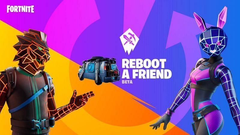 Reboot-A-Friend program in Fortnite (Image via Epic Games)