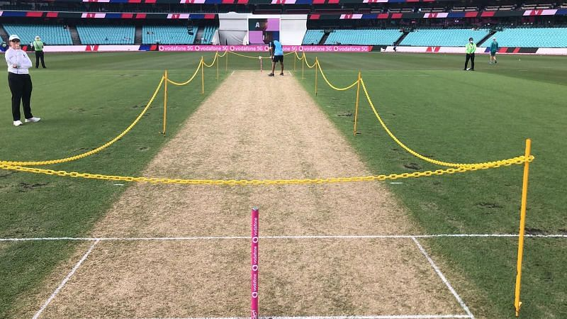 The 3rd India vs. Australia Test takes place in Sydney.