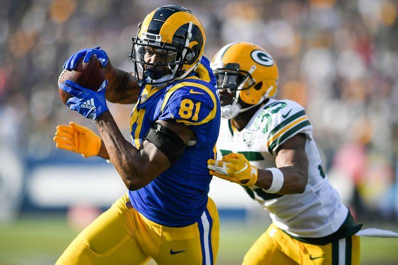 Green Bay Packers v Los Angeles Rams