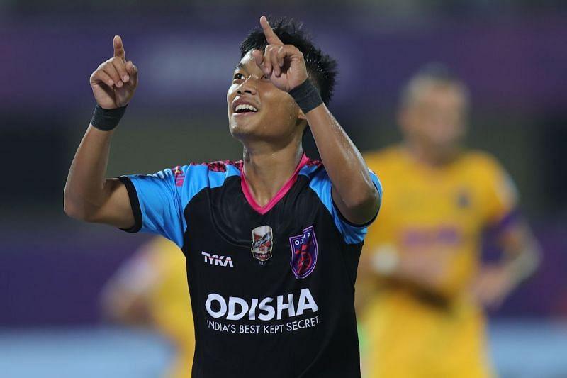 Jerry Mawihmingthanga has been a live wire down the wings for Odisha FC. (Image: Odisha FC)