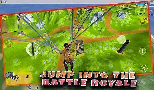 Fort survival: offline shooting battle royale game (Image via Google Play)