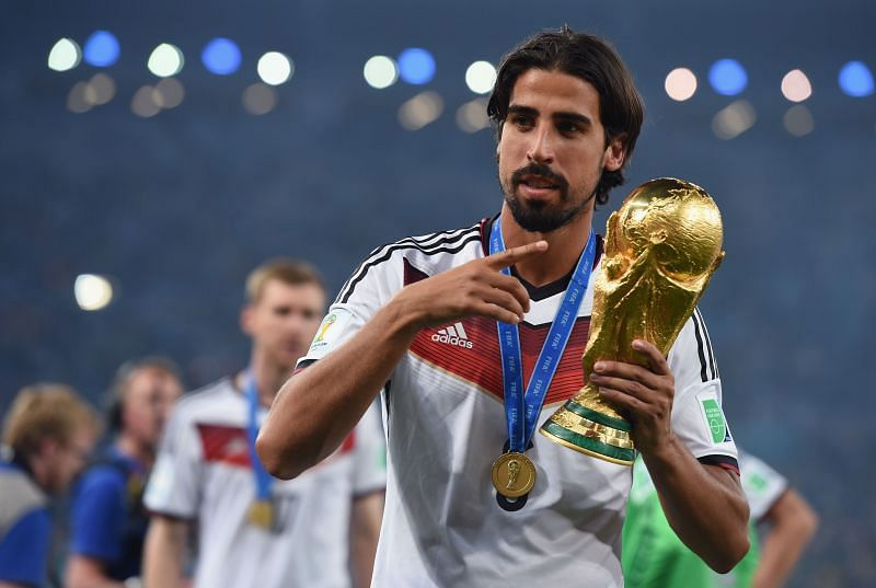 Sami Khedira was part of the German squad at the 2014 World Cup