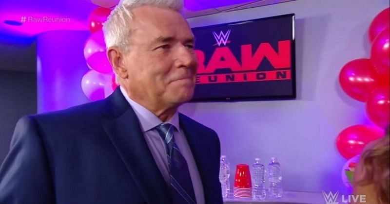 Eric Bischoff during the RAW Reunion episode.