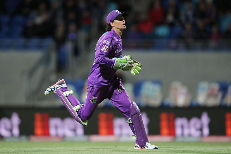 Peter Handscomb has been playing for the Hobart Hurricanes in the BBL