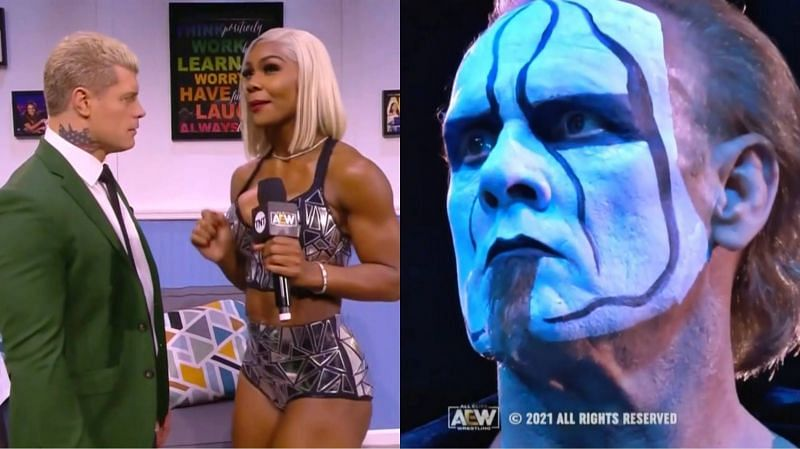 The main event of AEW Dynamite included an appearance from Sting.