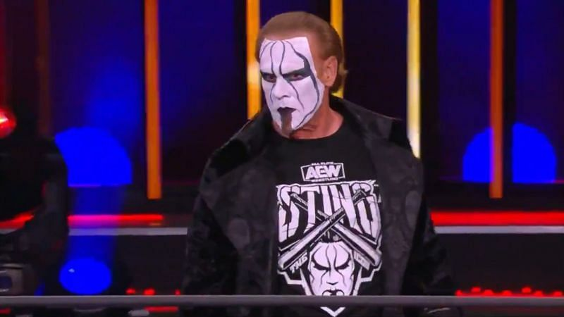 Sting got involved in the main event match this week