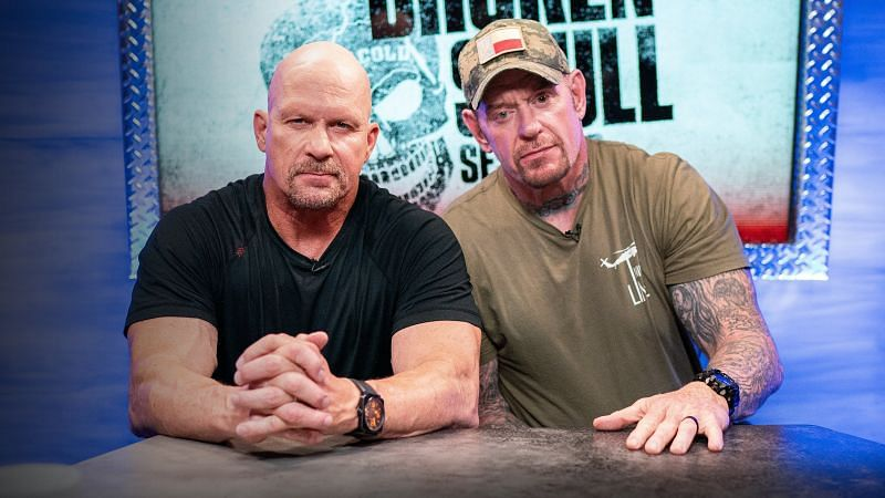 """Stone Cold"" Steve Austin was a guest on Busted Open today and he discussed The Undertaker"