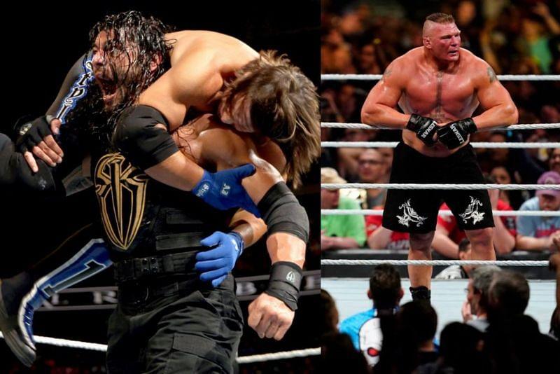 रोमन रेंस, ब्रॉक लैसनर समेत कई दिग्गज WWE सुपरस्टार्स Royal Rumble मैच में पहले स्थान पर एंट्री कर चुके हैं