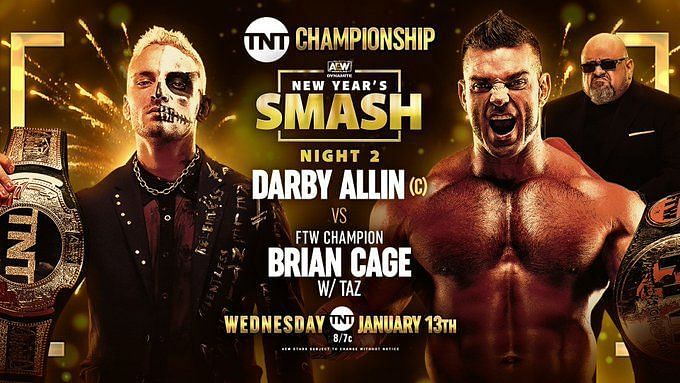 In the main event of AEW Dynamite, Darby Allin defeated Brian Cage to retain the TNT Championship.
