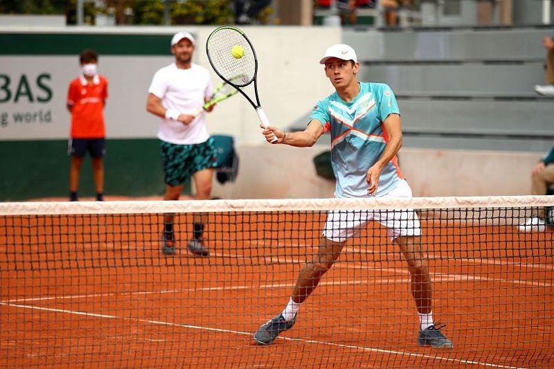 Alex de Minaur at the 2020 French Open