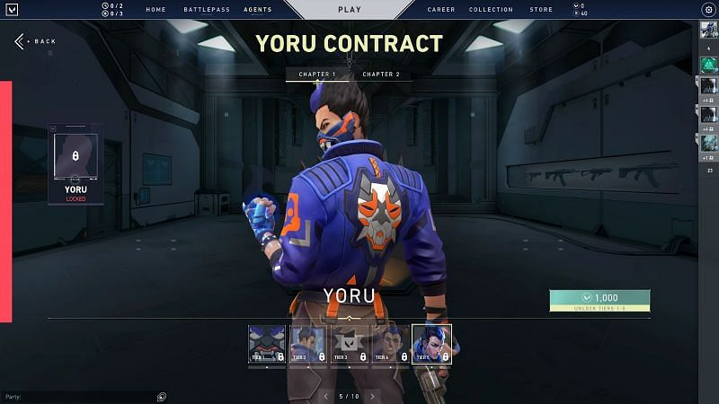 Yoru agent contract chapter 1