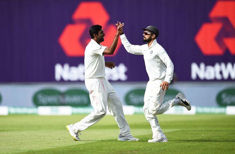 Virat Kohli and Ravichandran Ashwin