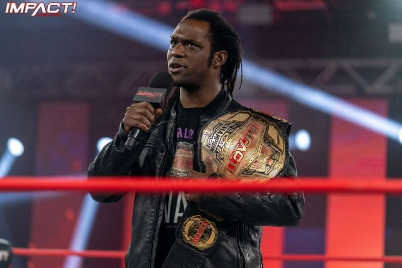 Rich Swann during the opening segment of this week