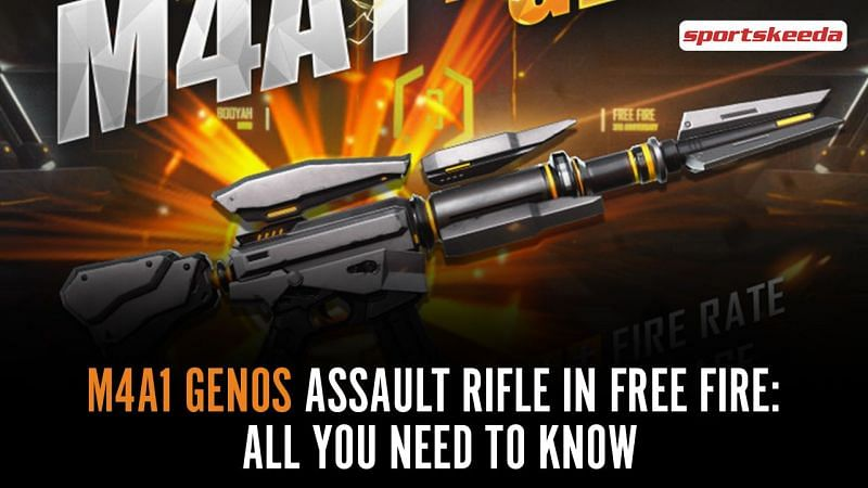 M4A1 Genos in Free Fire
