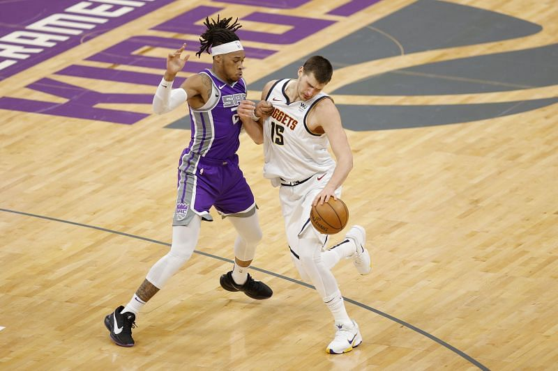 Denver Nuggets v Sacramento Kings.