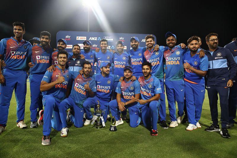 भारतीय टीम ने न्यूजीलैंड क 5-0 से शिकस्त दी थी