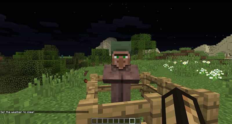Zombie villager get cured and turn into a normal villager