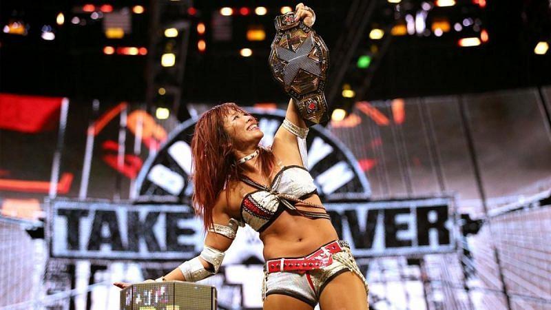 Kairi Sane had a successful career with the WWE