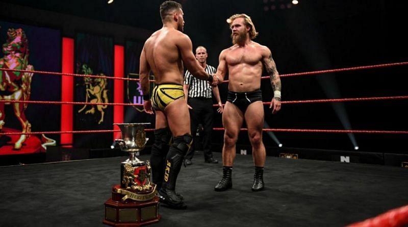 Tyler Bate on NXT UK