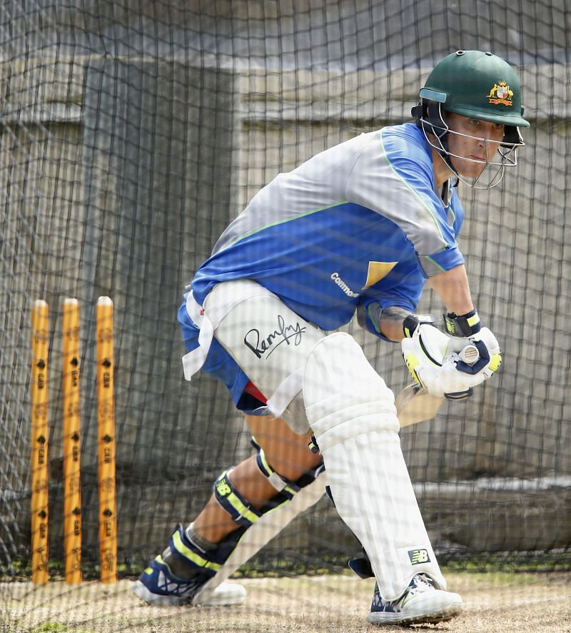 Nic Maddinson in a net session.