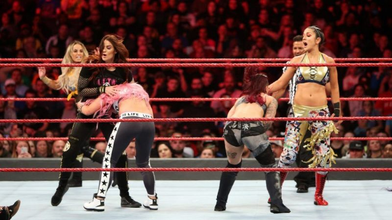 WWE Wrestlemania 35 का विमेंस टैग टीम चैंपियनशिप मैच