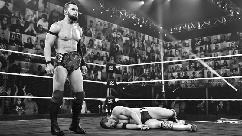 Finn Balor retained the NXT Championship after a gruesome match against Kyle O