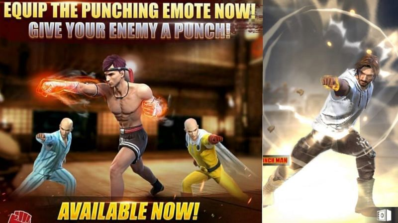 Players can get the Obliteration emote from the Store section of Free Fire (image via Sportskeeda)