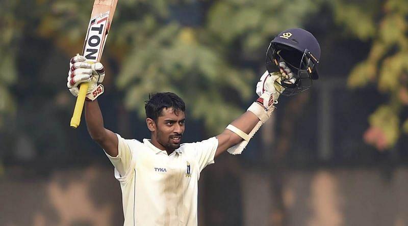 Abhimanyu Easwaran has scored 4,401 first-class runs at an average of 43.57, including 13 hundreds and 18 fifties.