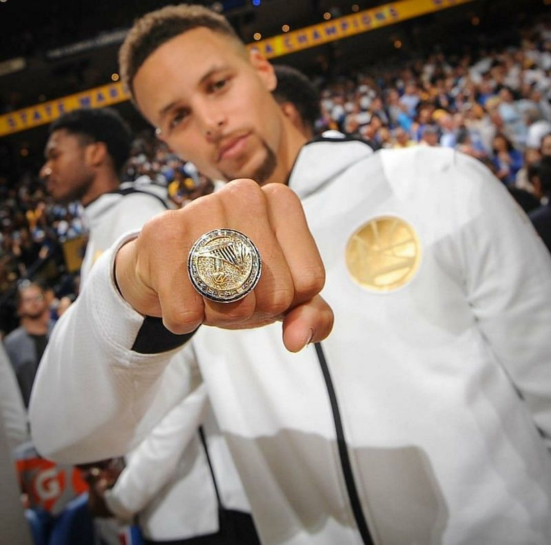 Stephen curry rings