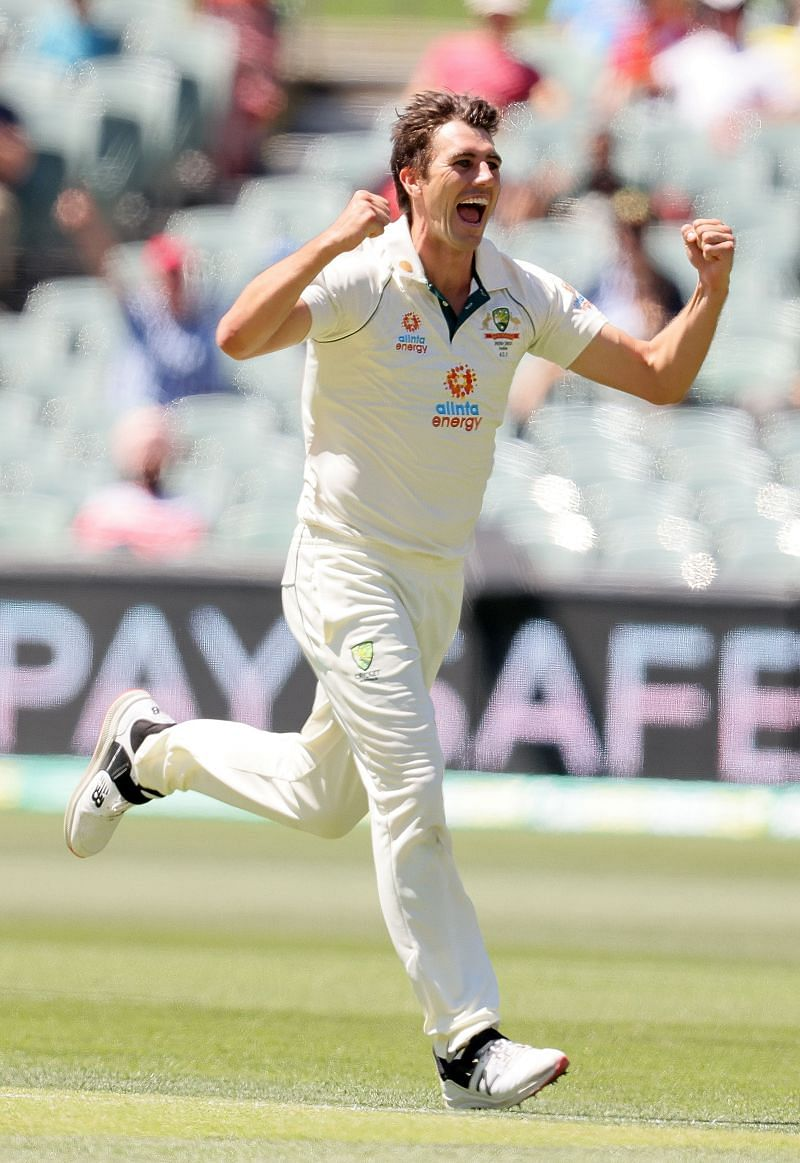 Ricky Ponting has been impressed by Pat Cummins on Day Two.