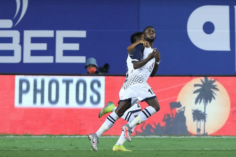 Bright Enobakhare has scored 2 goals in 2 matches for SC East Bengal. (Image: ISL)