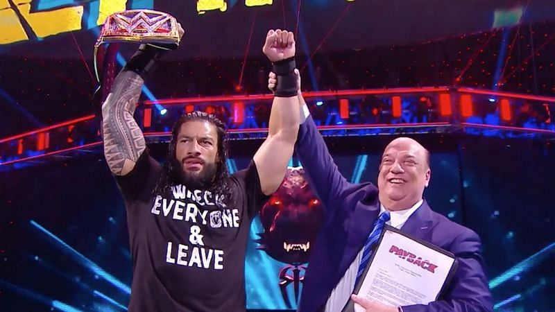Paul Heyman has been working as special counsel to Roman Reigns